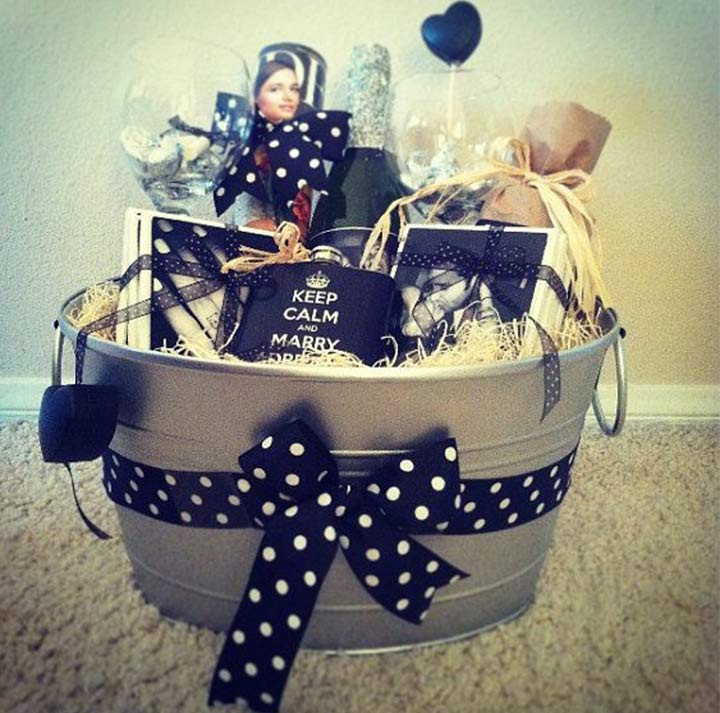 Best ideas about Couples Gift Basket Ideas . Save or Pin 15 Out The Box Engagement Gifts Ideas For Your Favorite Now.