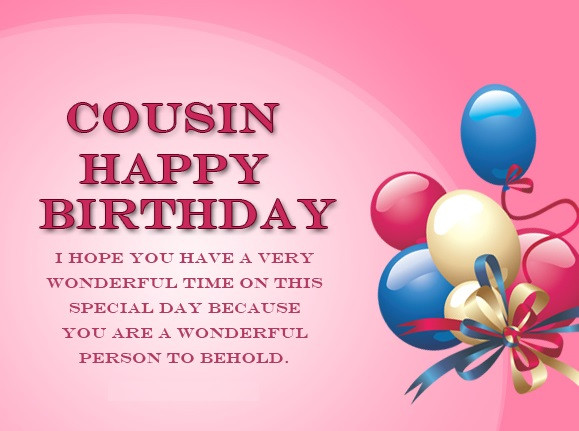 Cousin Birthday Quotes  Birthday Wishes for Cousin Quotes Messages & Greetings