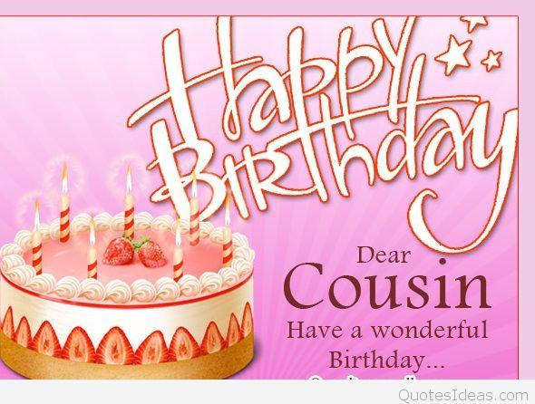Cousin Birthday Quotes  Funny Happy Birthday cousin quote