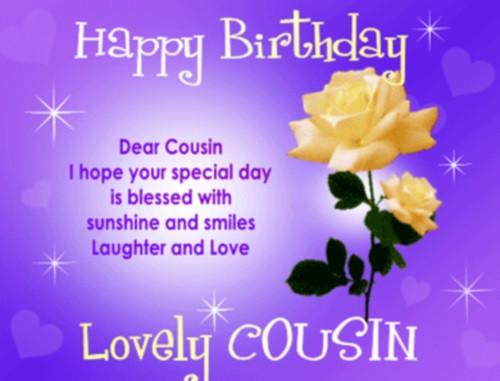 Cousin Birthday Quotes  Happy Birthday Cousin Quotes photos