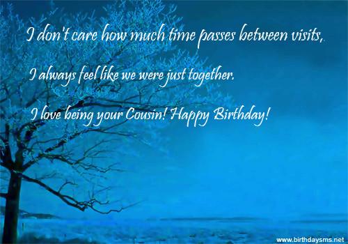 Cousin Birthday Quotes  Gorgeous Happy Birthday Cousin Quotes QuotesGram