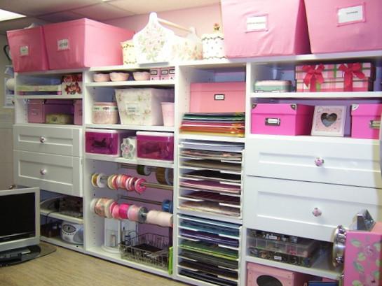 Craft Closet Organization Ideas  PURPLE SAGE ORIGINALS Cabinets and Storage for Craftrooms
