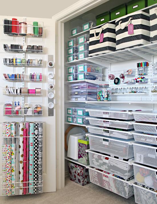 Craft Closet Organization Ideas  IHeart Organizing The Ultimate Craft Closet Organization