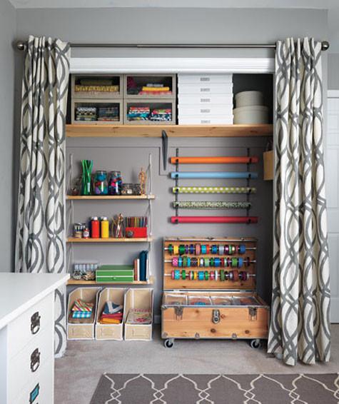 Craft Closet Organization Ideas  Gift Wrap Organization Ideas Inspiration