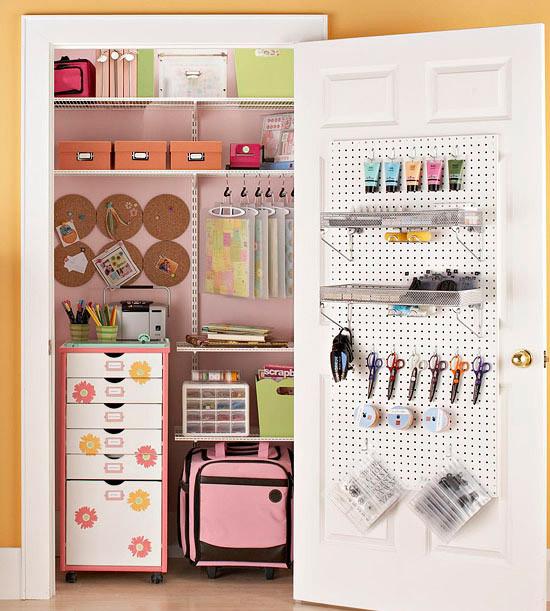 Craft Closet Organization Ideas  Small Closet Organization Home Design Architecture