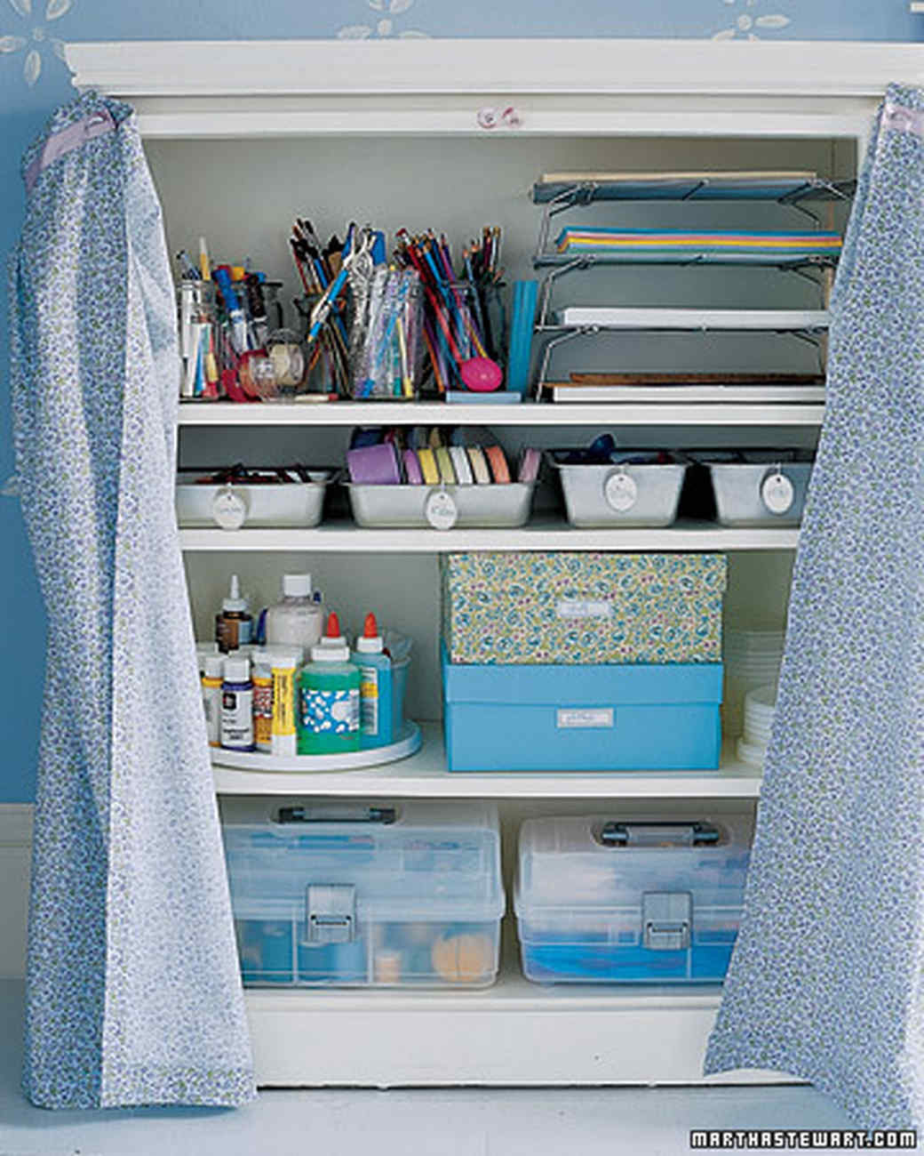 Craft Closet Organization Ideas  Closet Storage and fice Organizers