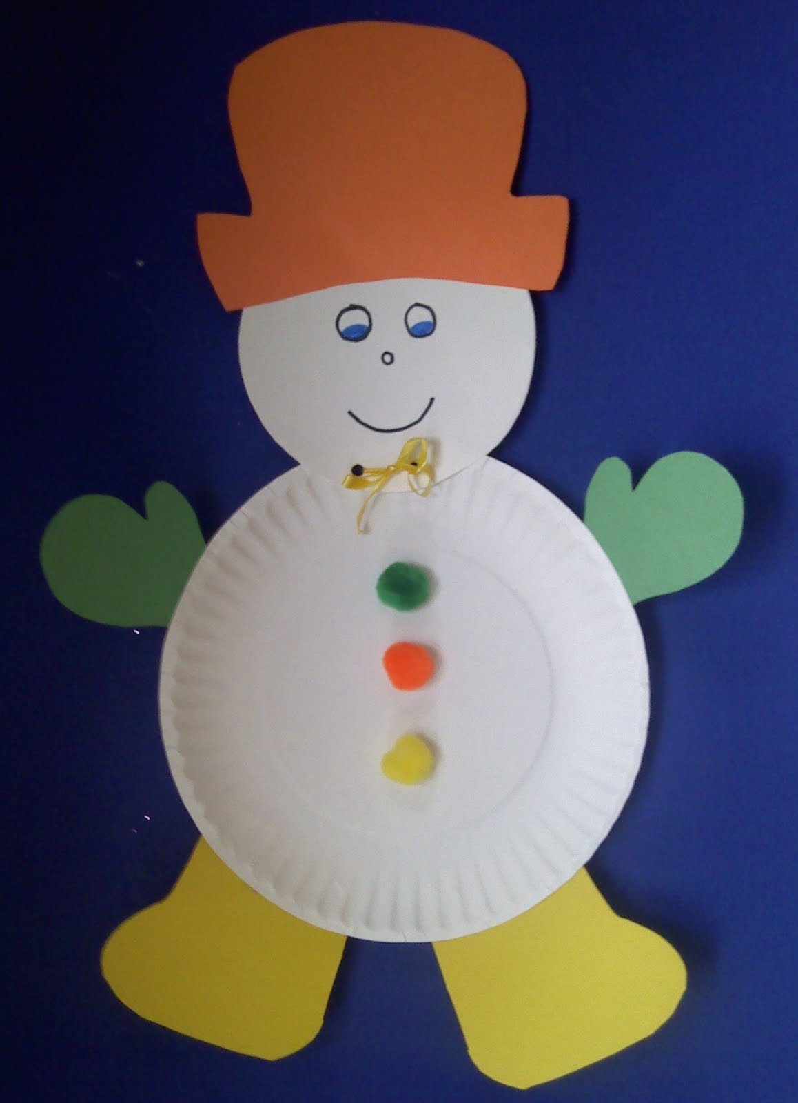Craft For Preschoolers  Crafts For Preschoolers Winter Crafts
