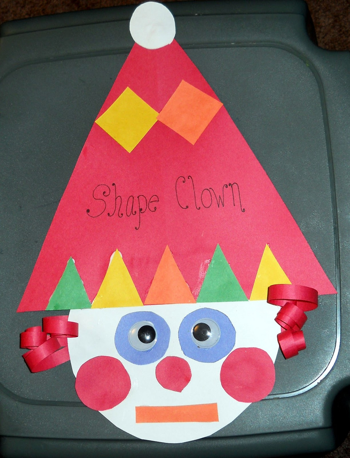 Craft For Preschoolers  Shapes Craft For Preschoolers