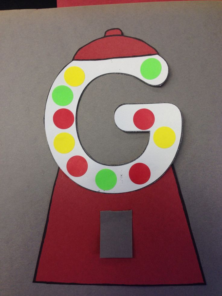 Craft For Preschoolers  Letter G Crafts Preschool and Kindergarten
