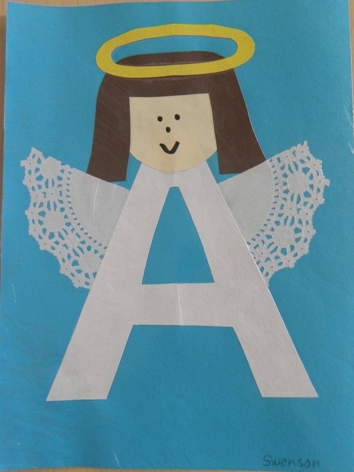Craft For Preschoolers  Letter A Crafts for Preschool Preschool and Kindergarten