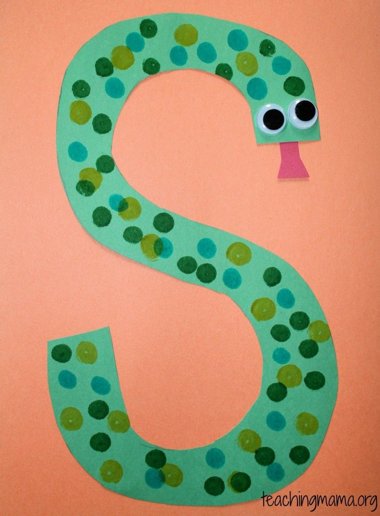 Craft For Preschoolers  5 Fun Activities for the Letter S kids