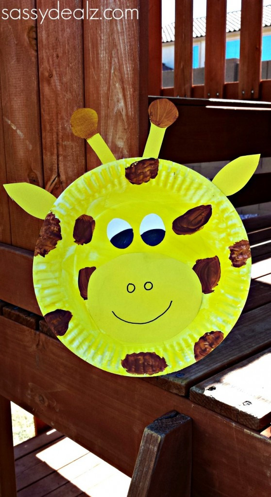 Best ideas about Craft Projects For Toddlers . Save or Pin Paper Plate Giraffe Craft For Kids Crafty Morning Now.