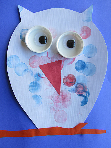 Best ideas about Craft Projects For Toddlers . Save or Pin Easy Owl Craft For Kids Now.