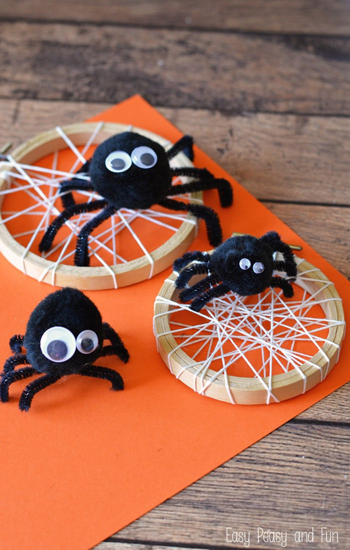 Best ideas about Craft Projects For Toddlers . Save or Pin Silly Spider Craft Easy Peasy and Fun Now.