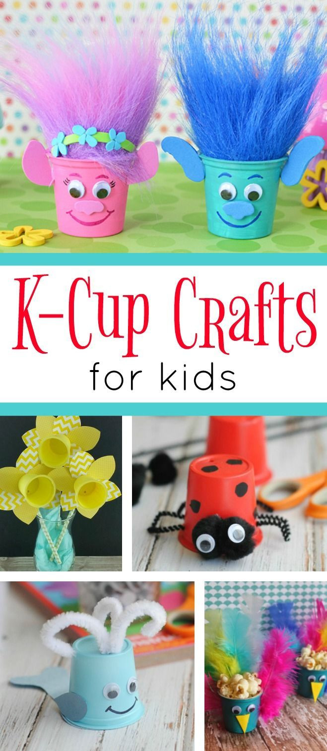 Best ideas about Craft Projects For Toddlers . Save or Pin A fun collection of K Cup Crafts for kids These cute and Now.