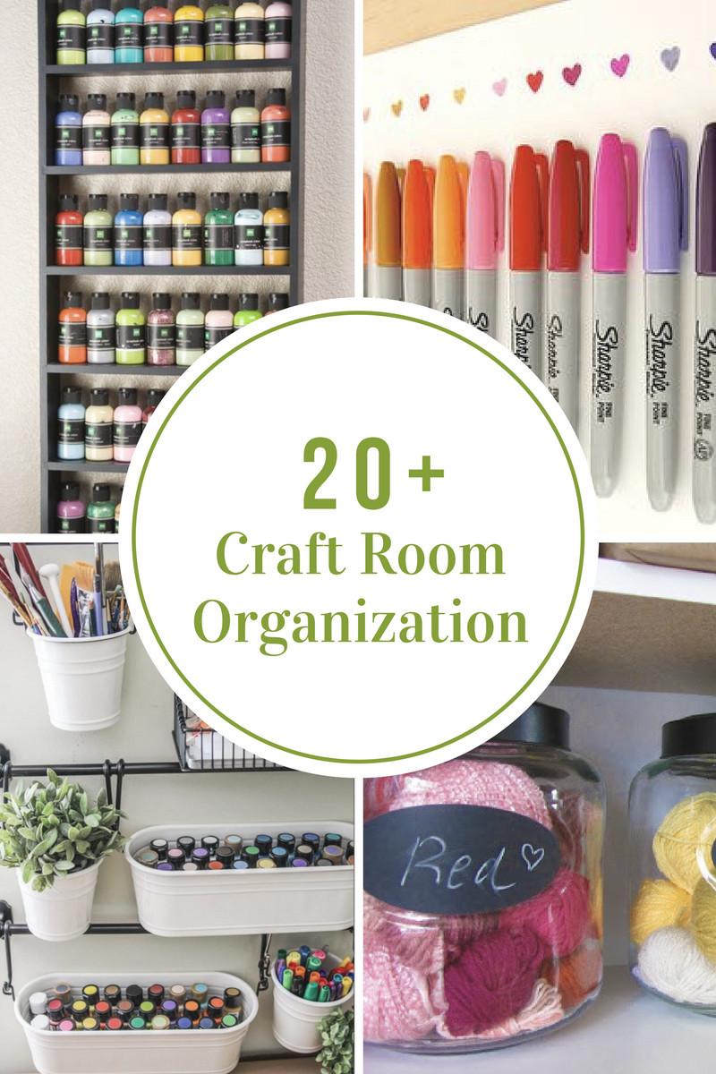 Craft Room Organizing Ideas  Craft Room Organization and Storage Ideas The Idea Room