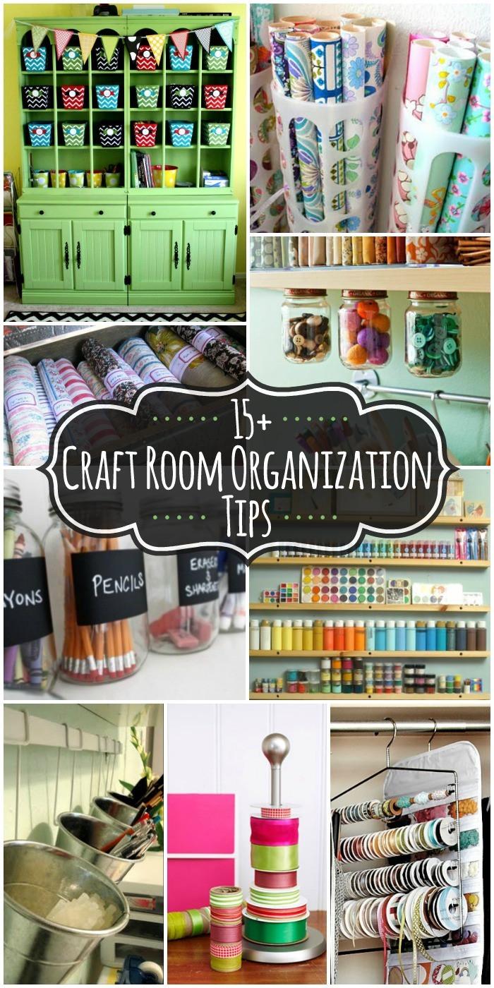 Craft Room Organizing Ideas  20 Craft Room Organization Ideas