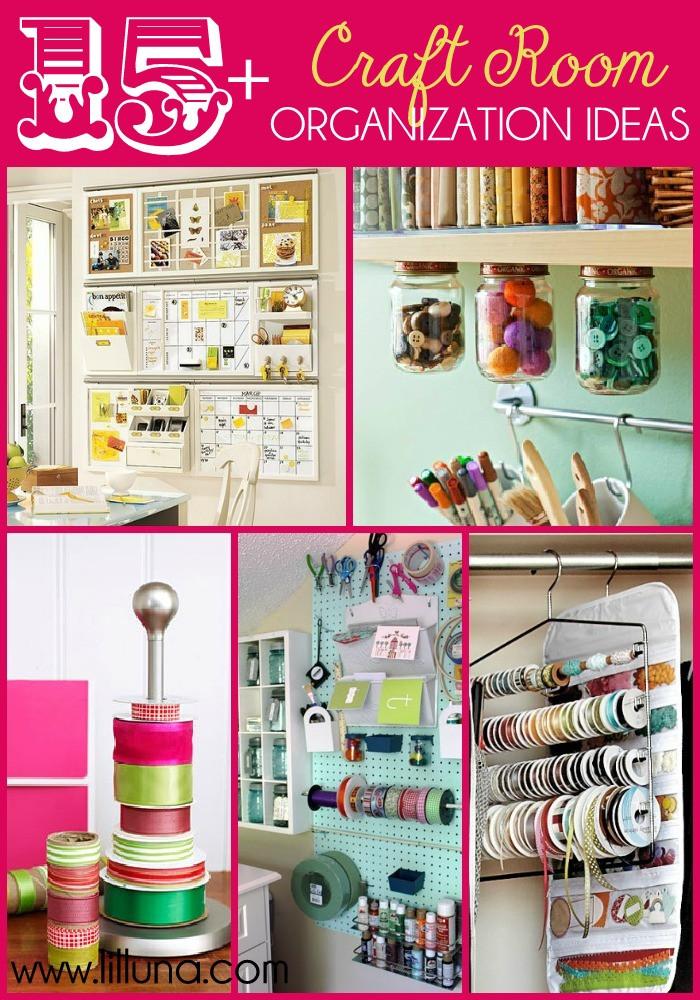 Craft Room Organizing Ideas  Embroidery Thread Organizer