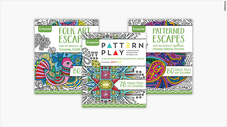 Best ideas about Crayola Adult Coloring Books . Save or Pin Crayola launches its first coloring books for adults Now.