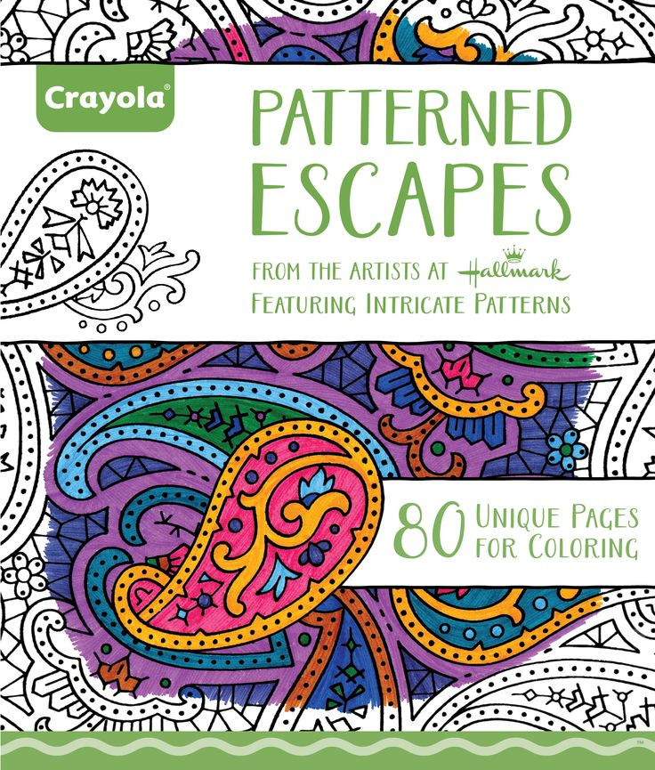Best ideas about Crayola Adult Coloring Books . Save or Pin 36 best images about Adult Coloring Pages on Pinterest Now.
