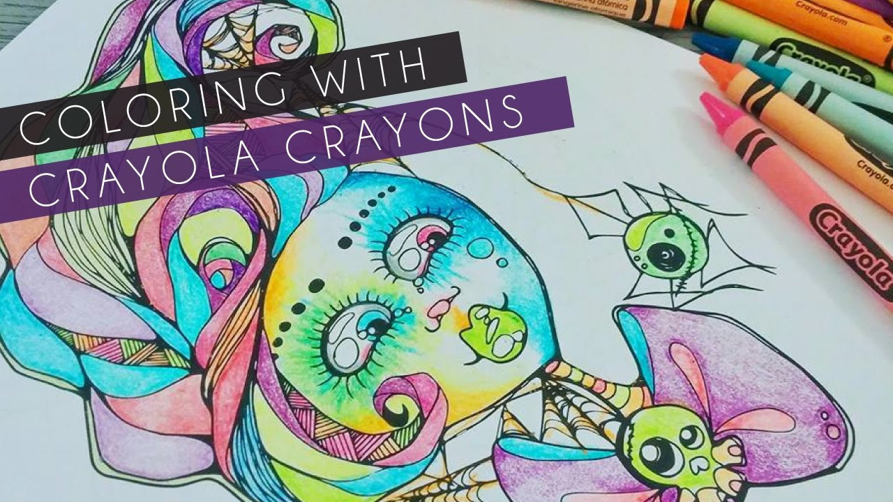 Best ideas about Crayola Adult Coloring Books . Save or Pin Coloring with Crayola Crayons Now.