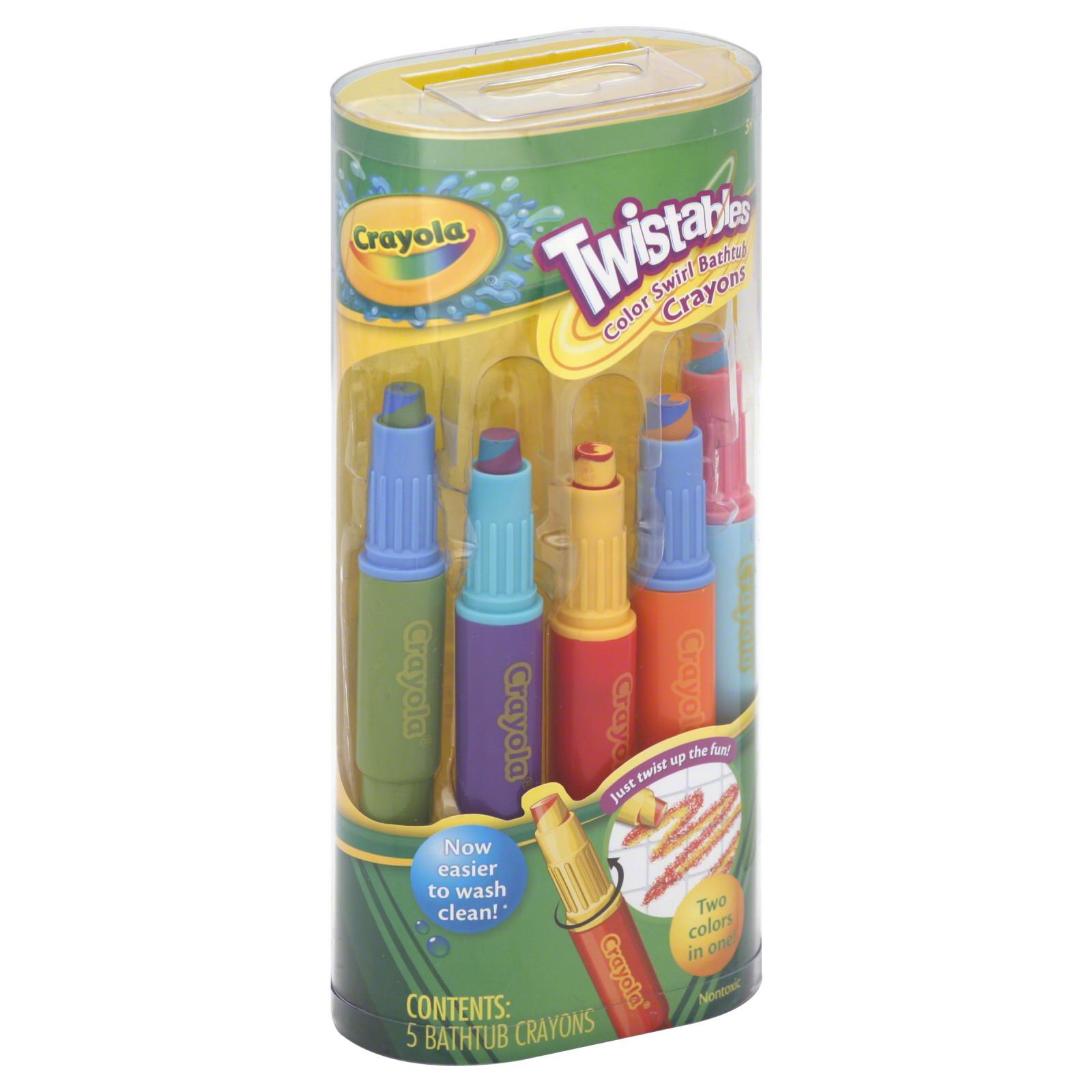Best ideas about Crayola Bathroom Crayons . Save or Pin Crayola Twistables Color Swirl Bathtub Crayons 5 Piece Now.