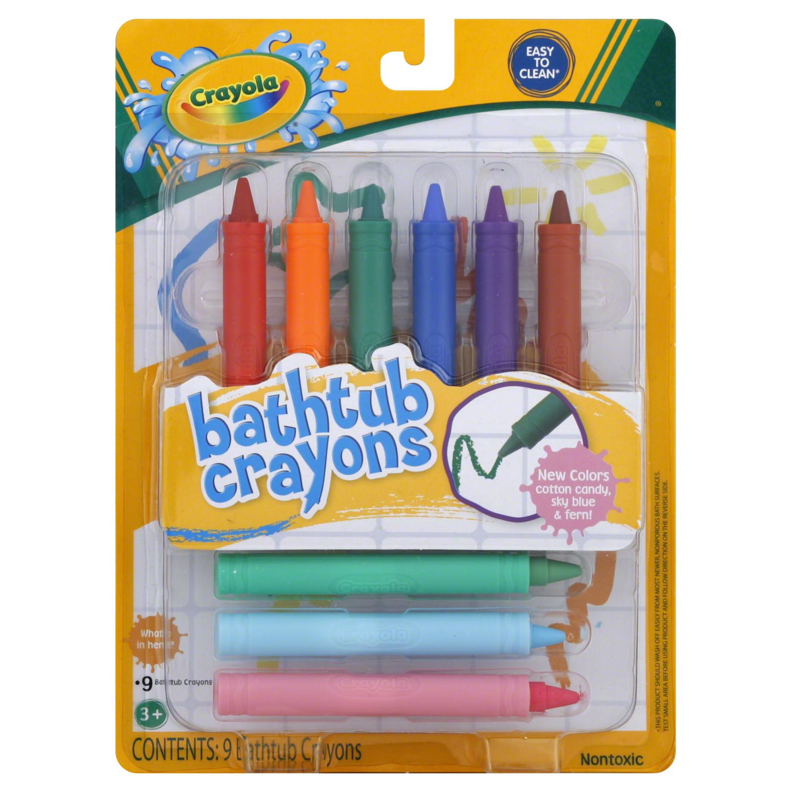 Best ideas about Crayola Bathroom Crayons . Save or Pin Crayola Bathtub Crayons 9 crayons Now.