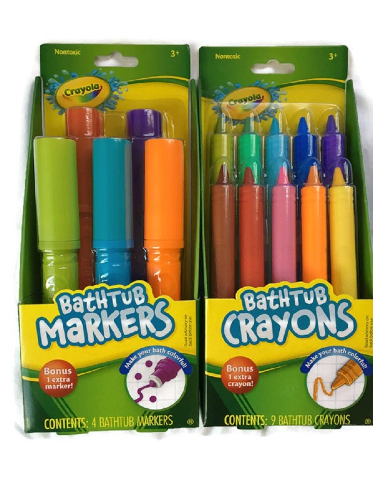 Best ideas about Crayola Bathroom Crayons . Save or Pin Amazon Crayola Bathtub Finger Paint Soap 5 Pack Beauty Now.
