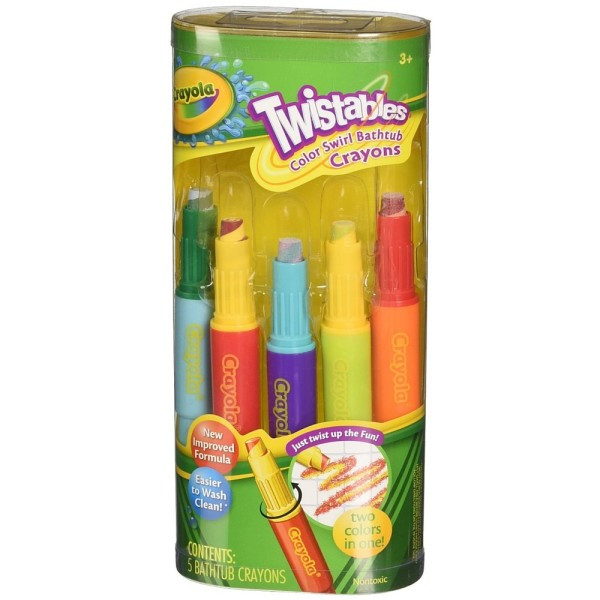 Best ideas about Crayola Bathroom Crayons . Save or Pin Crayola Twistables Color Swirl Bathtub Crayons Assorted Now.