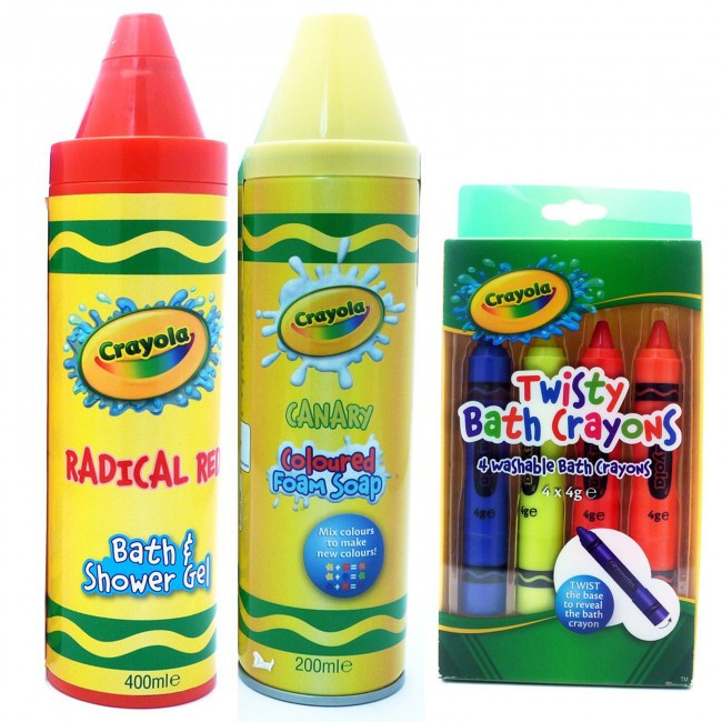 Best ideas about Crayola Bathroom Crayons . Save or Pin Crayola Washable Bath Crayons Bath & Shower Gel 400ml Now.