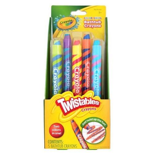 Best ideas about Crayola Bathroom Crayons . Save or Pin Crayola Twistables Color Swirl Bathtub Crayons 5 count Now.