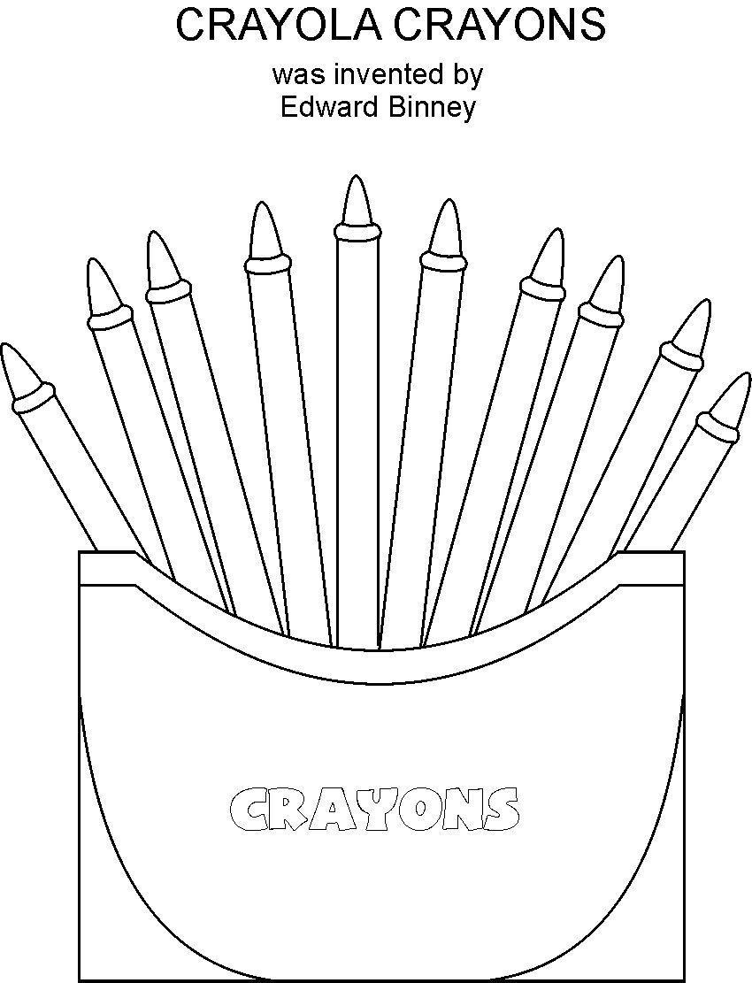 Crayon Coloring Pages  Crayon Coloring Pages Bestofcoloring