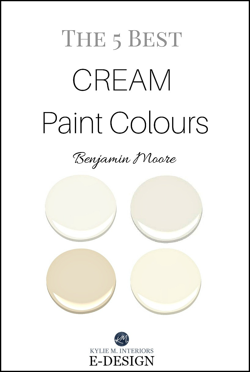 Best ideas about Cream Paint Colors . Save or Pin The best cream paint colours by Benjamin Moore off white Now.
