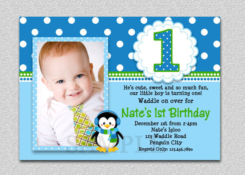 Create Birthday Party Invitations  16 Best First birthday invites – Printable Sample