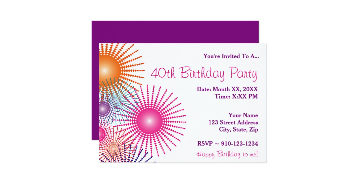 Create Birthday Party Invitations  Create Your Own Birthday Party Invitation