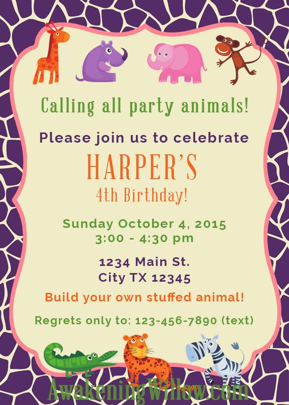 Create Birthday Party Invitations  Create Birthday Party Invitations