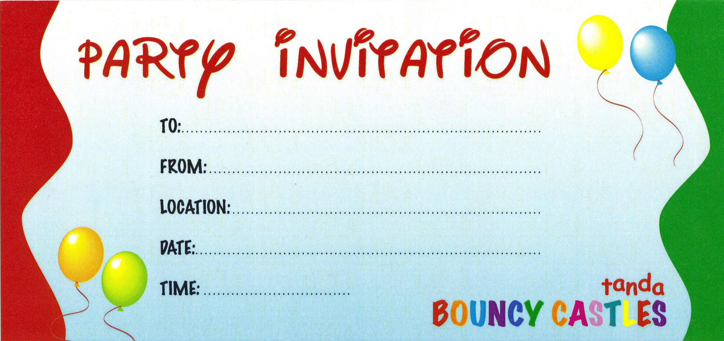 Create Birthday Party Invitations  Design your own birthday invitations create your own