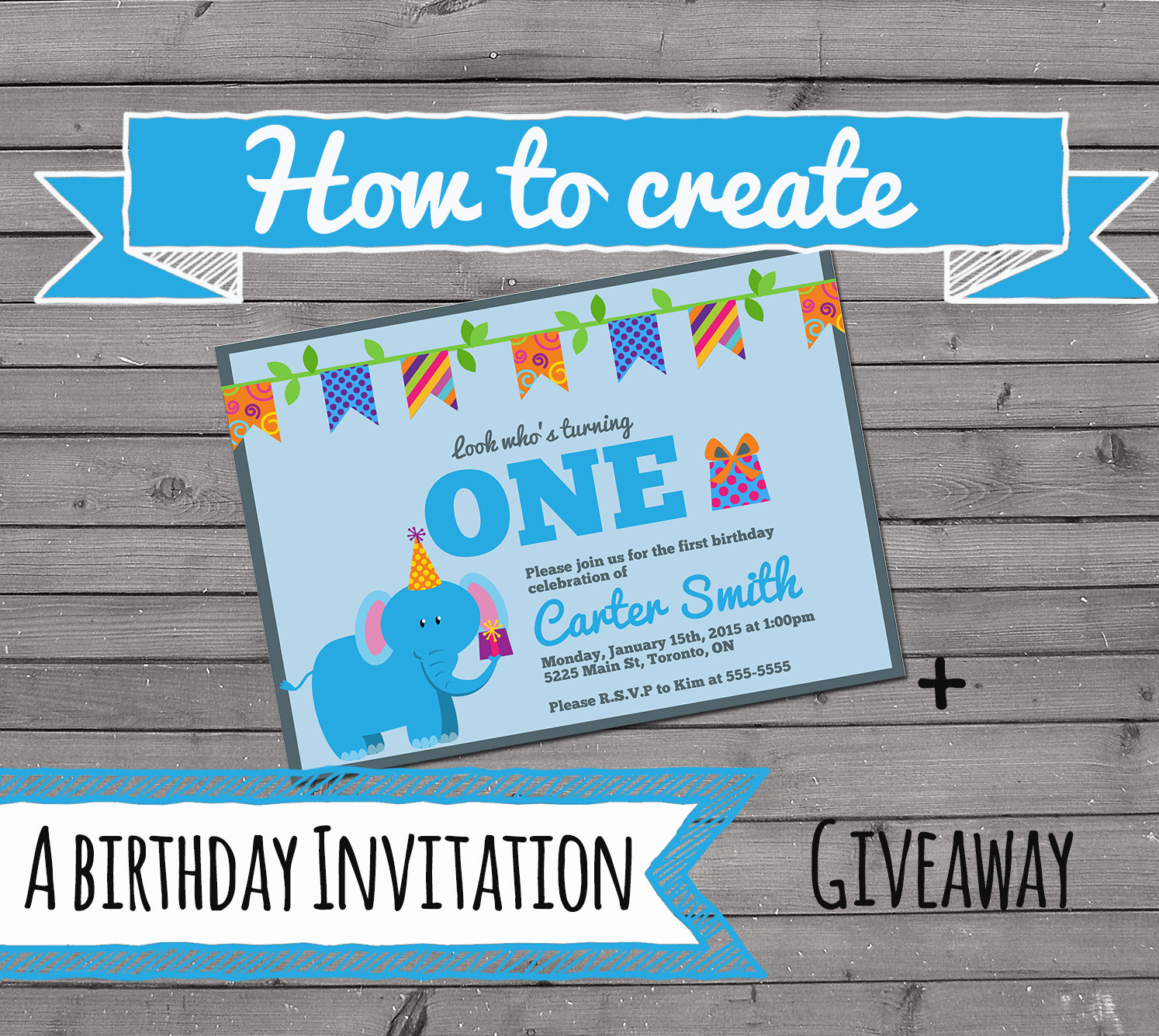 Create Birthday Party Invitations  How to Create an Invitation The Best Ideas for Kids