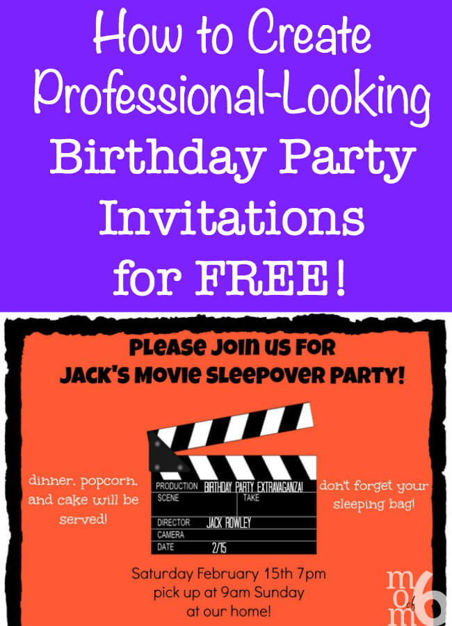 Create Birthday Party Invitations  How to Create Birthday Party Invitations Using PicMonkey