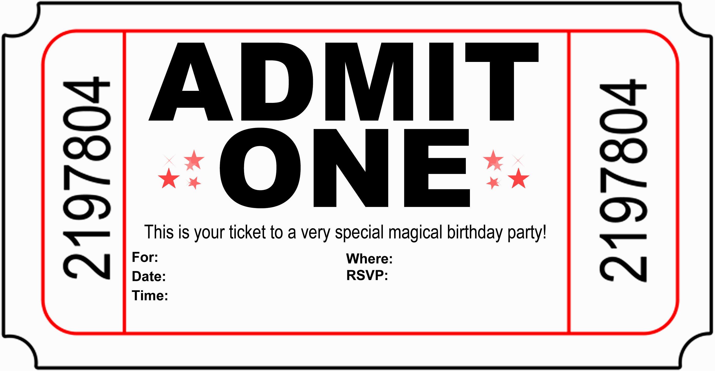 Create Birthday Party Invitations  Create Printable Birthday Invitations – Best Happy