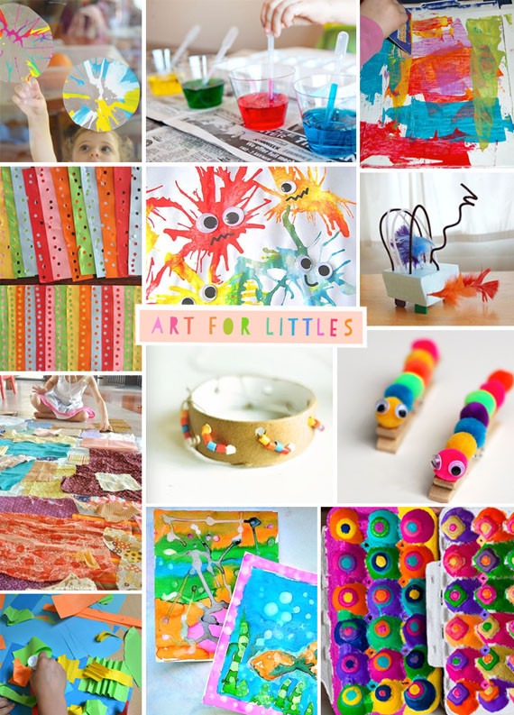 Best ideas about Creative Art Activities For Preschoolers . Save or Pin Art for Littles two ARTBAR Now.