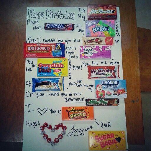 Creative Birthday Ideas For Boyfriend  Boyfriend birthday card ideas Randomss