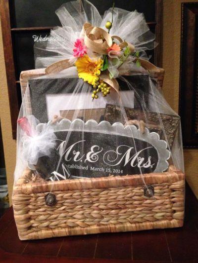 Creative Bridal Shower Gift Basket Ideas  Bridal Shower Gift Ideas