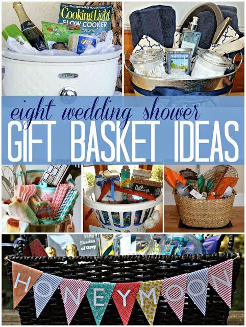 Creative Bridal Shower Gift Basket Ideas  8 wedding bridal shower t basket ideas a great way to