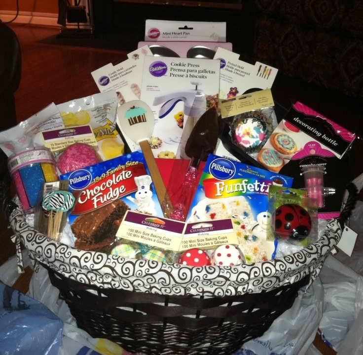 Creative Bridal Shower Gift Basket Ideas  Bridal Shower Gift Basket Ideas For The Bride