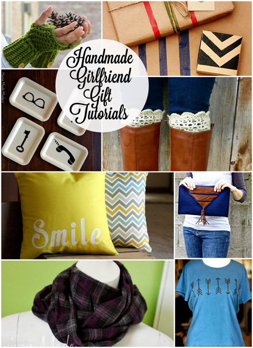 Best ideas about Creative Gift Ideas Girlfriend . Save or Pin Block Party Handmade Girlfriend Gift Ideas Features Rae Now.