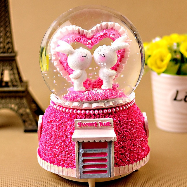Best ideas about Creative Gift Ideas Girlfriend . Save or Pin Crystal ball music box manualidades creative birthday t Now.