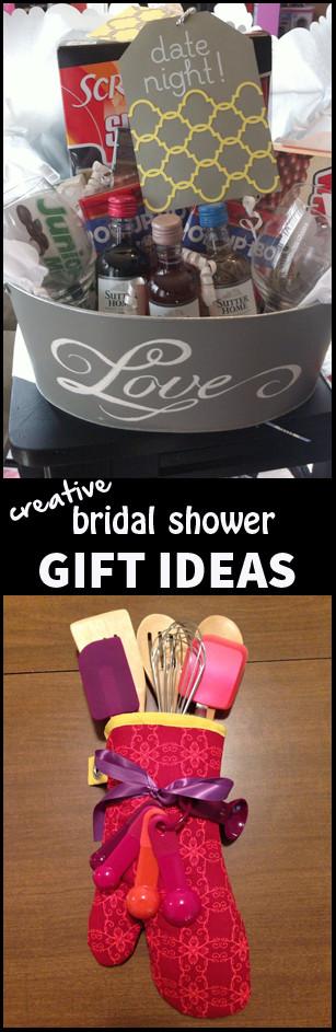 Creative Wedding Gift Ideas  Paige s Party Ideas Creative Bridal Shower Gift Ideas