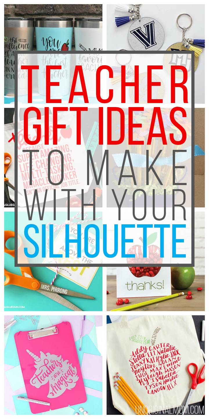 Best ideas about Cricut Craft Ideas . Save or Pin DIY Teacher Gift Ideas to Make with Your Silhouette Now.