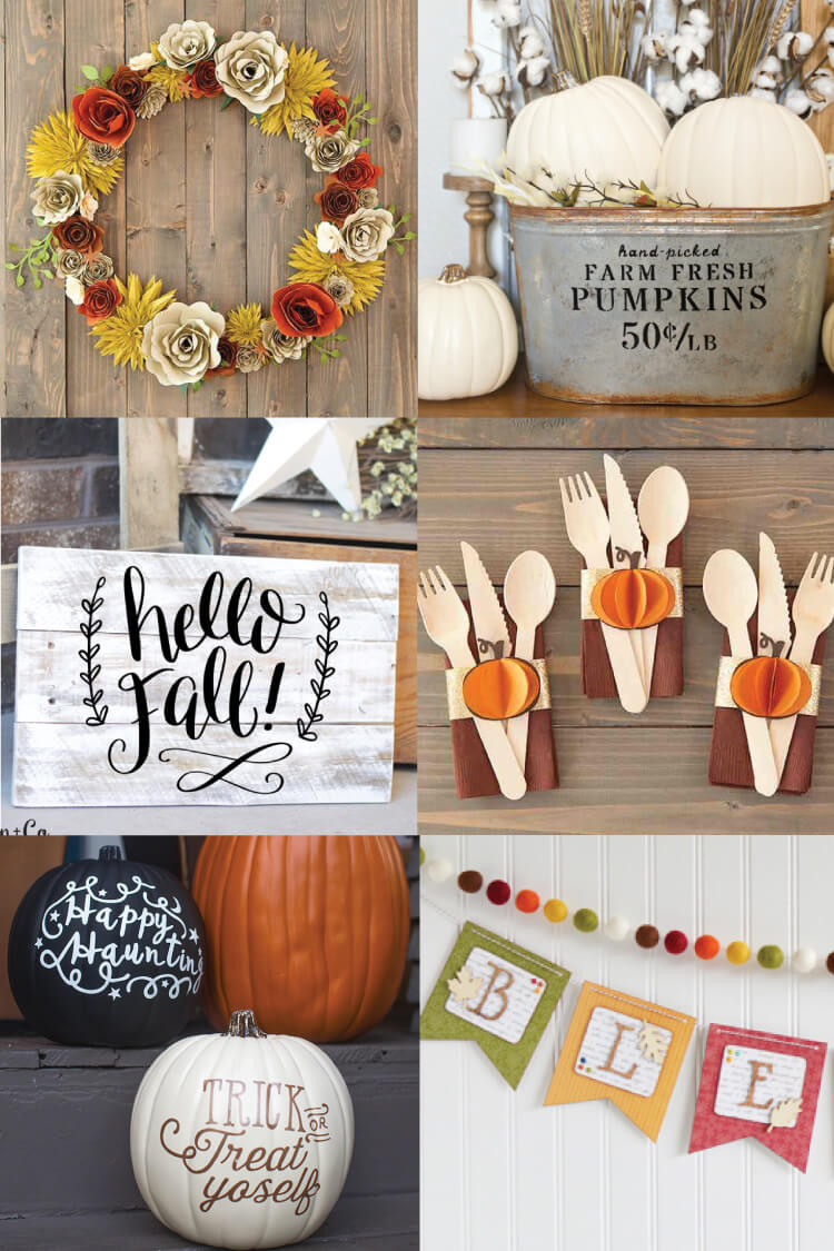 Best ideas about Cricut Craft Ideas . Save or Pin Fall Decorating Idea Pumpkin Luminaria SVG Cut File Now.